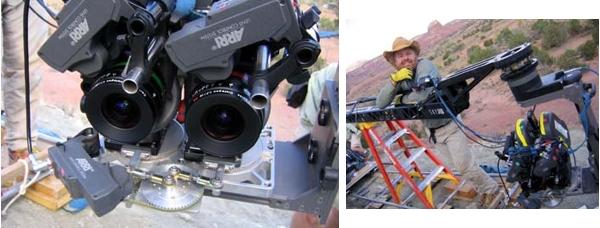 Две спаренные камеры Arriflex
